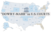 Dowry Mahr in U.S. Courts